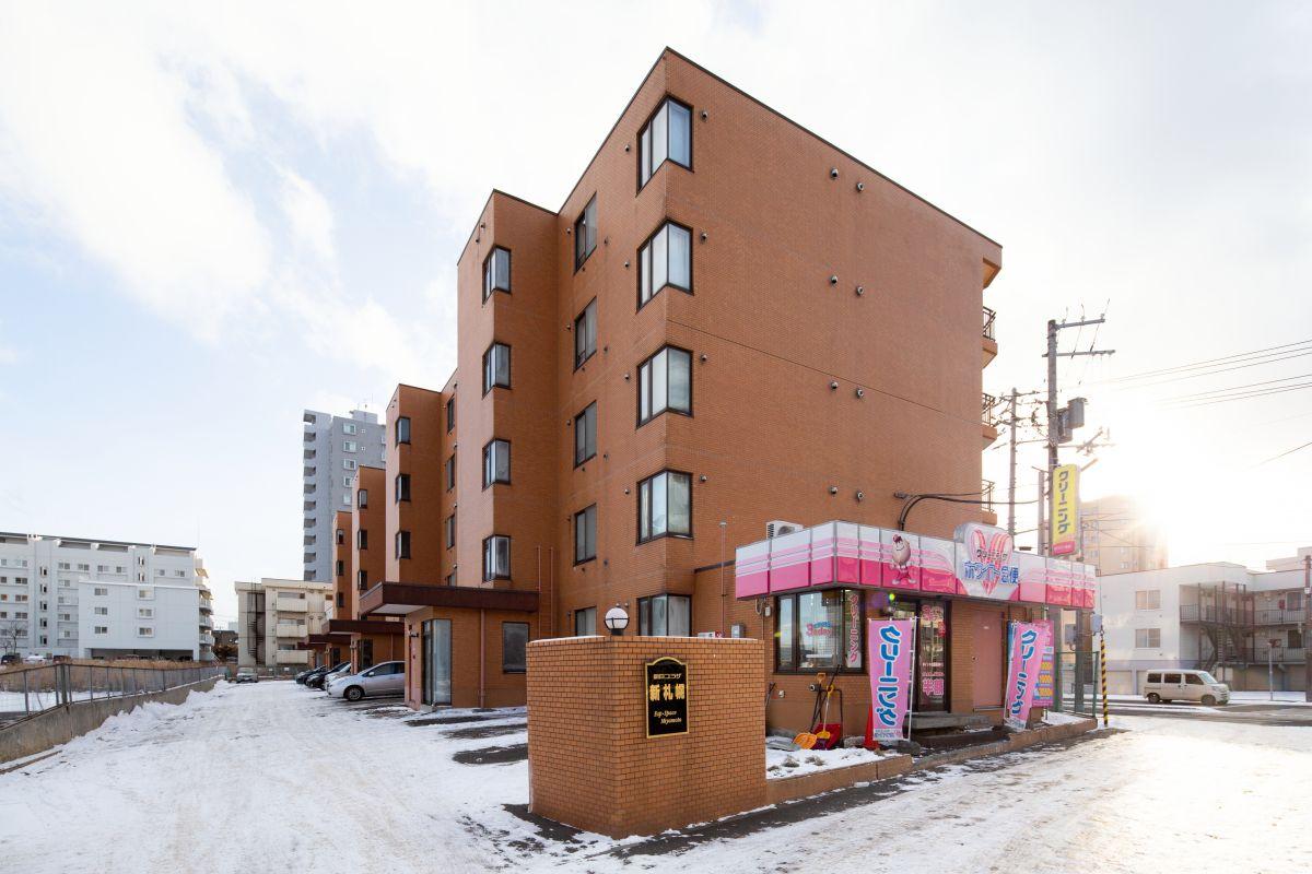 ノースステイ新札幌の外観写真