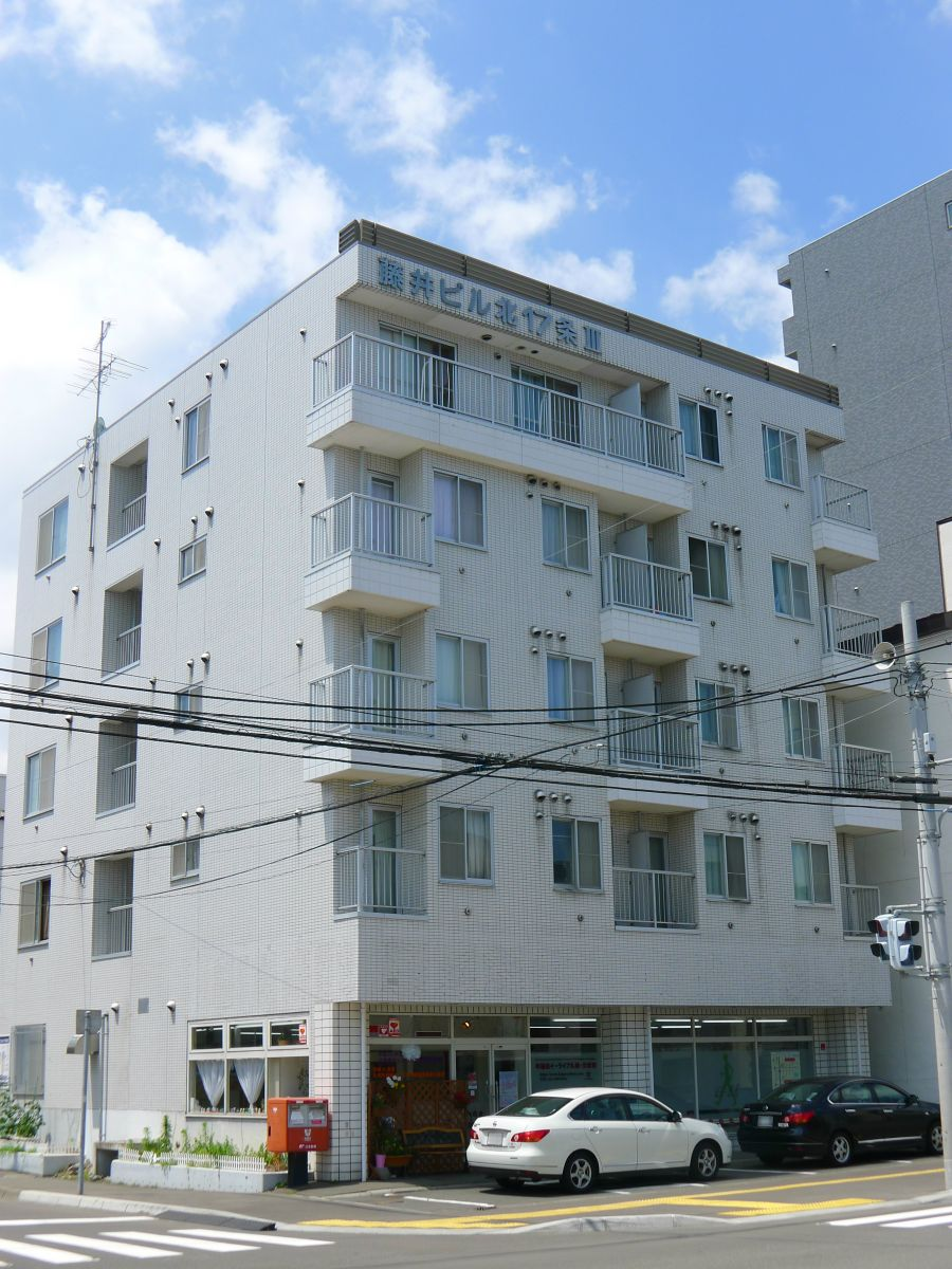 藤井ビル北17条Ⅲの内観・設備写真