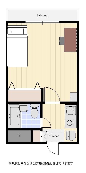 ユニオンマンスリー西新宿3の間取図