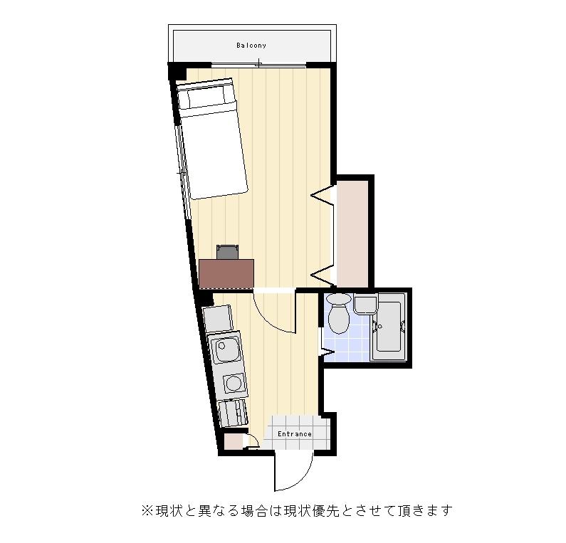 ユニオンマンスリー駒沢大学4の間取図