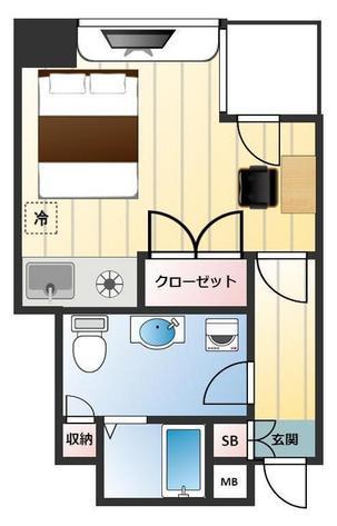 千代田タワーANNEXの間取図