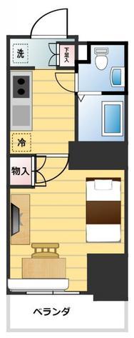 XEBEC蒲田Station-exz.の間取図