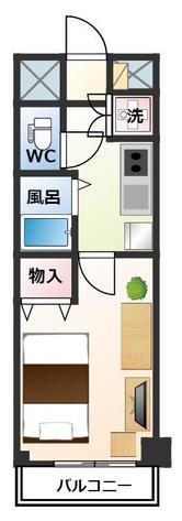 リヴシティ新宿壱番館の間取図