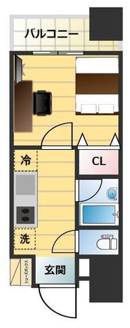 東京蒲田Square Towerの間取図