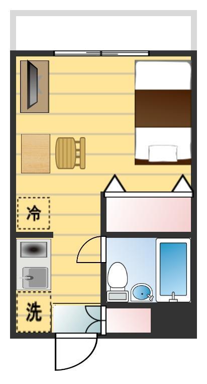 フェニックスマンション阿佐ヶ谷第2の間取図
