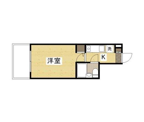 KAWABE340ビルの間取図