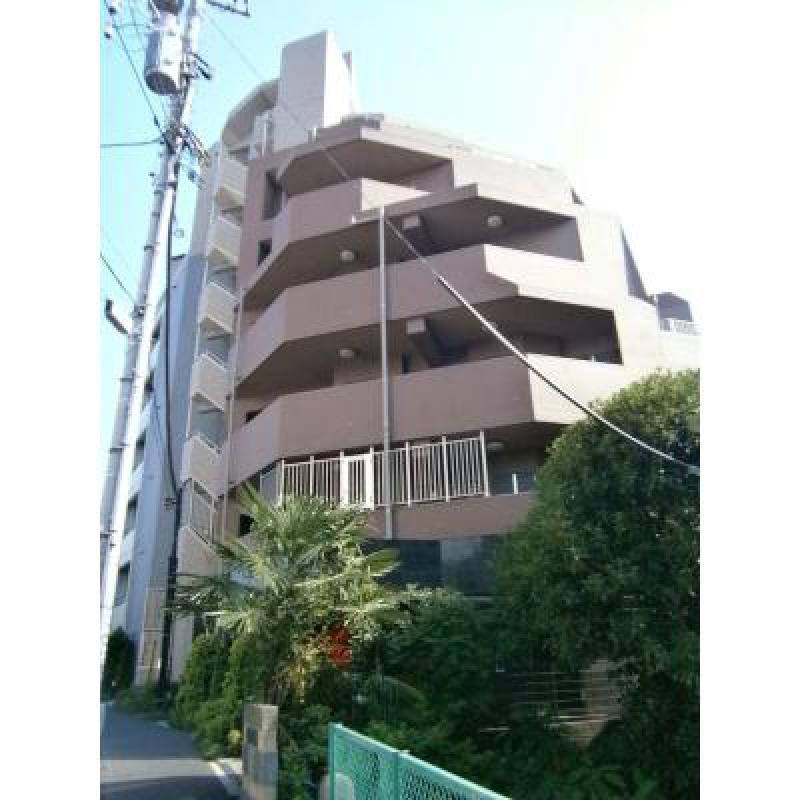 千駄ヶ谷WMマンションの外観写真