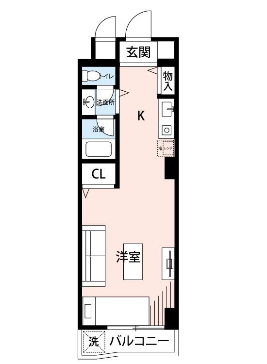 スターホームズ渋谷本町の間取図