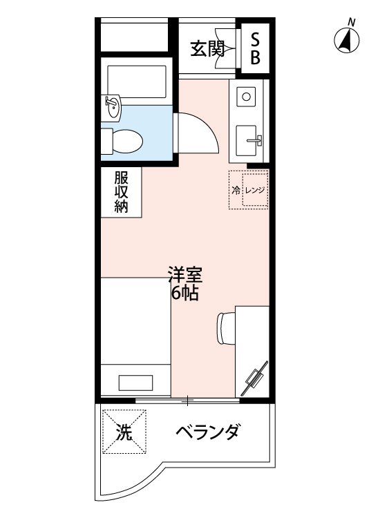 ジョイフル笹塚の間取図