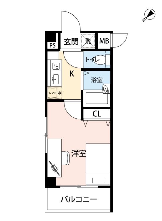 OLIO渋谷の間取図