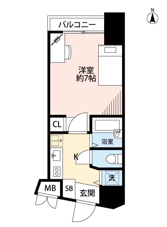 グランドガーラ渋谷の間取図