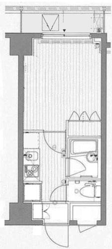 キャッスルステージ東池袋の間取図