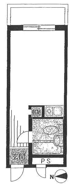 ホープ錦糸町の間取図