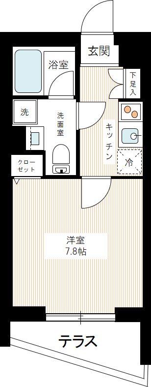 AZEST新桜台の間取図