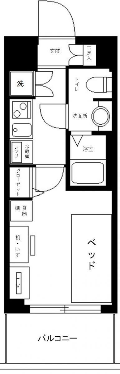 RISE STAGE MUSASHI-KOGANEIの間取図