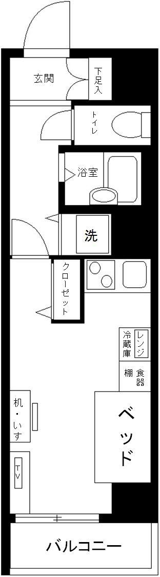 ヴェルト日本橋シティの間取図