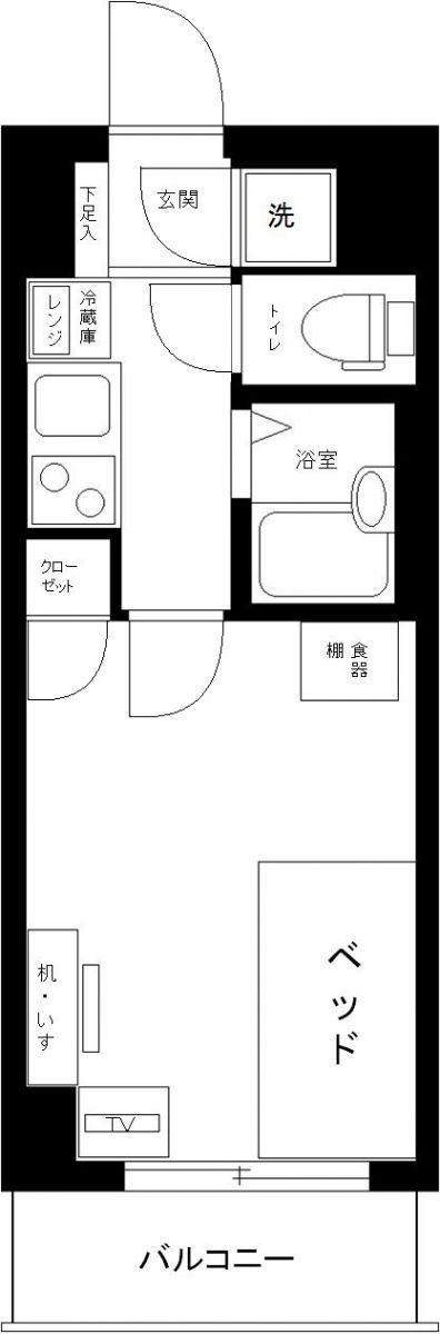 ラグーンシティ文京小石川の間取図