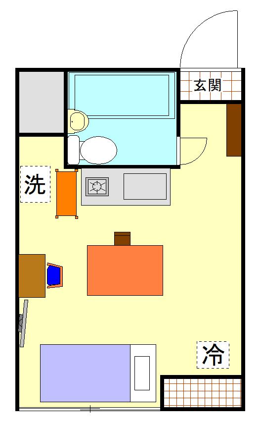 パールハイツ笹塚の間取図