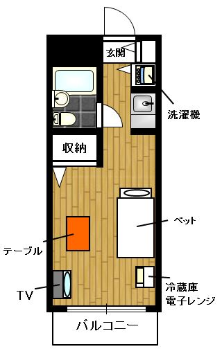 マイステージ板橋本町 YYYRの間取図