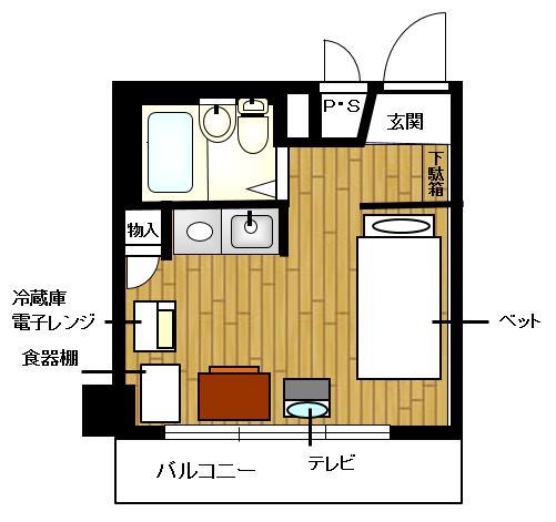 7325ライオンズマンション相模原第8 YYYRの間取図