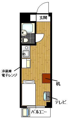 TOP・新宿薬王寺 YYYRの間取図