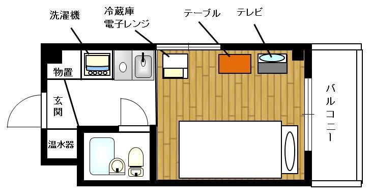 TOP・立川   YYYRの間取図