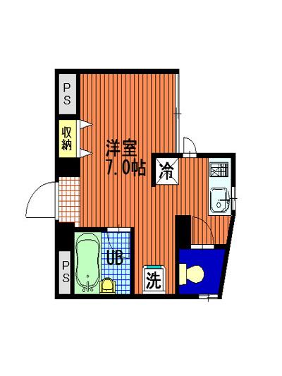 アパートメント四季の間取図