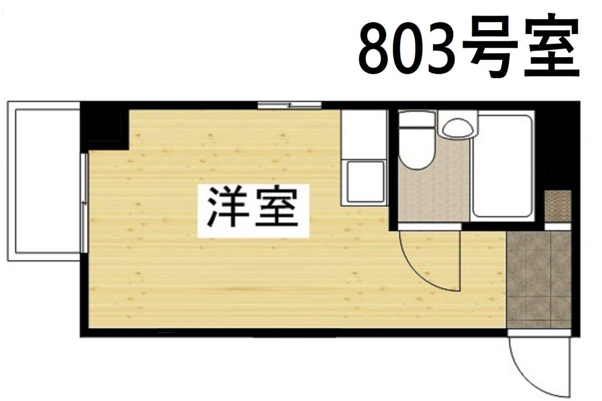 コンフォートマンションの間取図