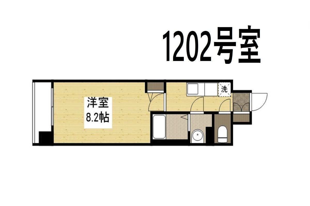 グランカリテ日本橋Ⅱの間取図