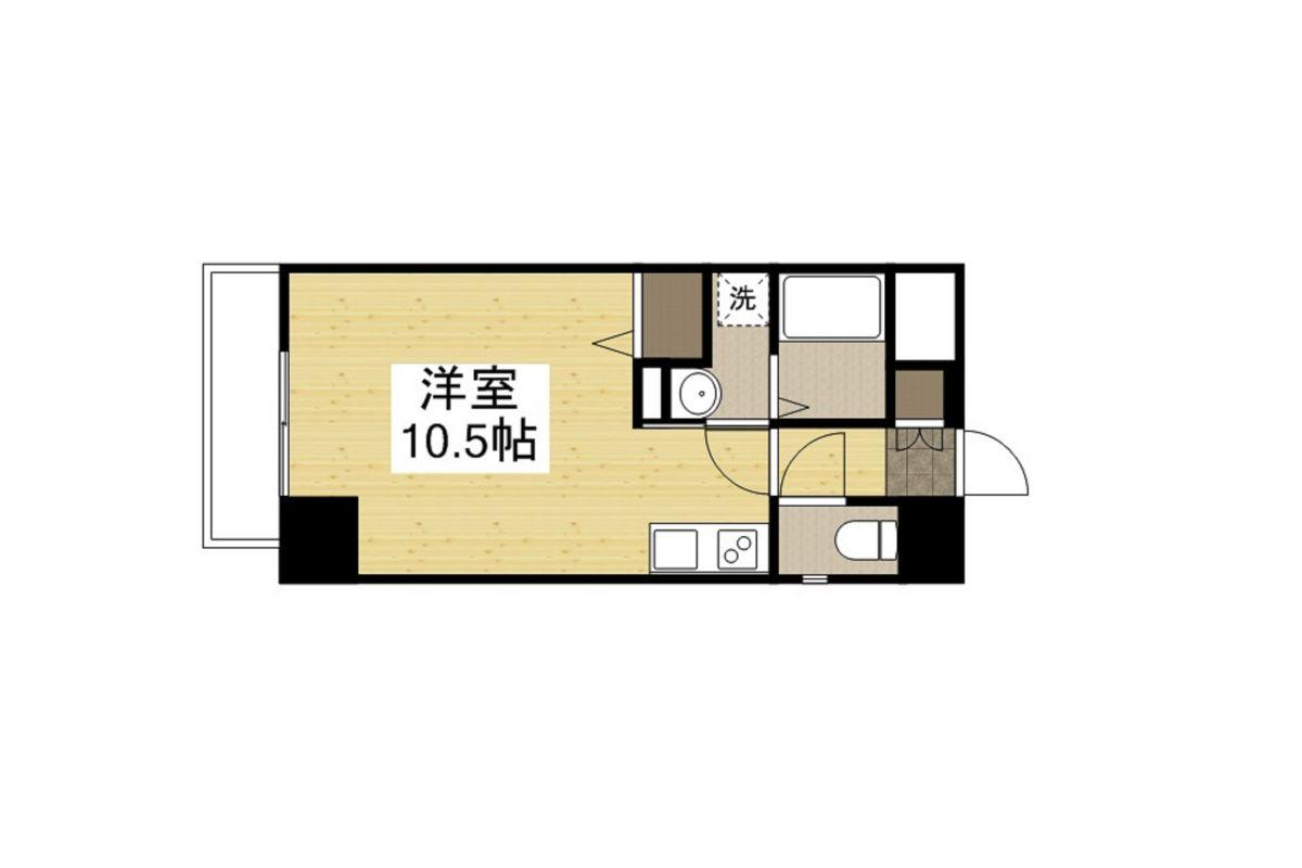 SDグランツ神戸大開通の間取図